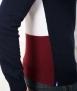 Le Pull Français Clovis - tricolore dos tricolore