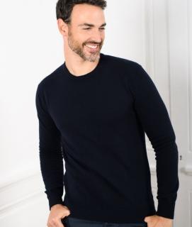Le Pull Français Marcel - marine