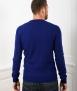 Le Pull Français Marcel - bleu indigo mérinos