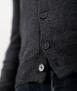 Le Pull Français Marius - gris anthracite boutons gravés