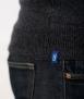 Le Pull Français Marius - gris anthracite étiquette