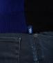 Le Pull Français Marius - noir/bleu indigo gilet homme