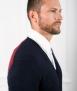 Le Pull Français Clovis cardigan - tricolore Pull Homme