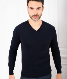 Le Pull Français César - marine/bordeaux Pull
