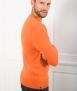 Le Pull Français Marcel - orange brûlé pull cachemire