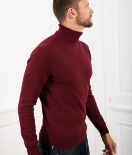 Le Pull Français Ugolin - bordeaux