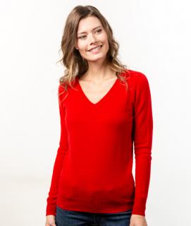 Le Pull Français Fanny - rouge