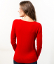 Le Pull Français Fanny - rouge Pull femme