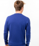 Le Pull Français César - bleu cobalt Pull made in France