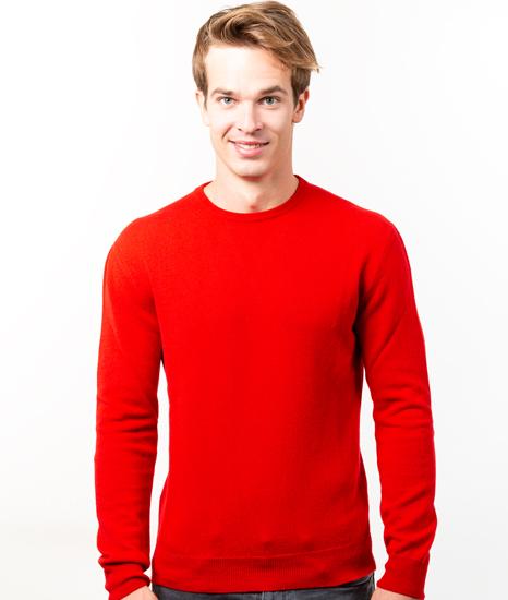 Le Pull Français Marcel - rouge