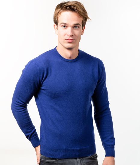 Le Pull Français Marcel - bleu cobalt