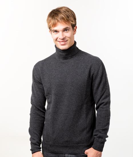 Le Pull Français Ugolin - gris anthracite