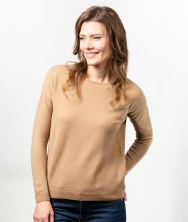 Le Pull Français Lili - camel