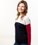 Le Pull Français Marianne - tricolore Pull Made in France