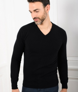 Le Pull Français César - noir