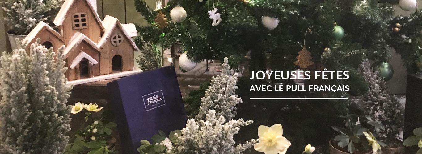 Joyeuses Fêtes avec le Pull Francais